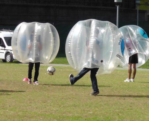 Bubble Bumper Soccer