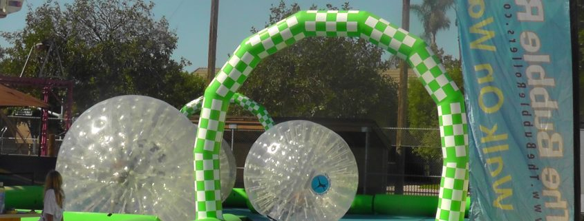 Image of Land Bubble Rollers at a park