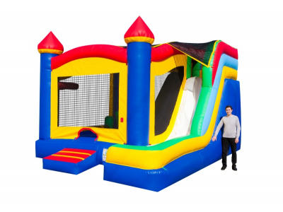 5-in-1 Castle Combo Side