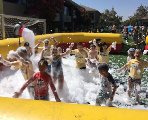 kids foam party