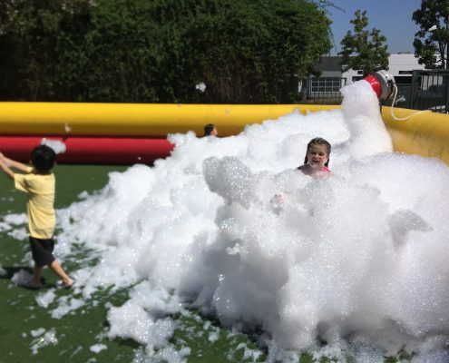 Rent foam pit machine for foam parties in Los Angeles, Orange County, and Riverside County