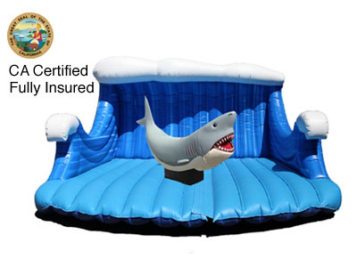 Emerald Events Mechanical Shark Certified Insured