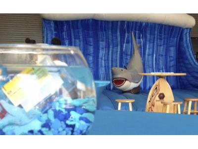 Emerald Events Shark party Mechanical Shark