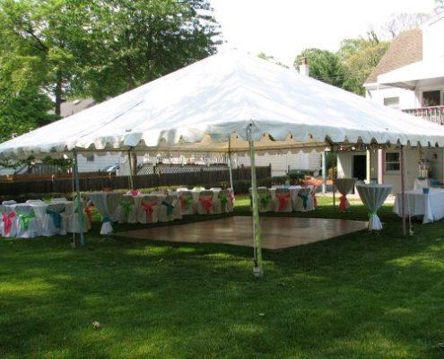 Emerald Events White 30x30 Tent