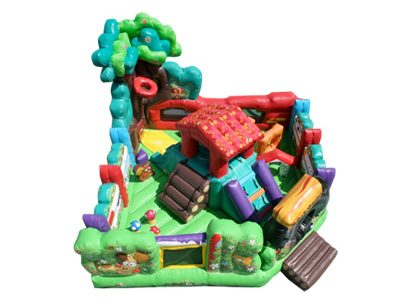 Backyard Toddler Combo Obstacle Course Top View