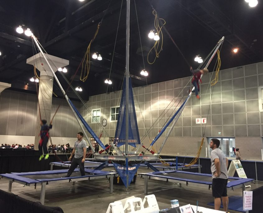 LA Travel & Adventure Show - Bungee Trampoline 01