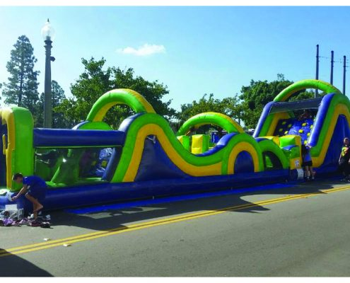 Image of theRadical Run Obstacle Course for kids