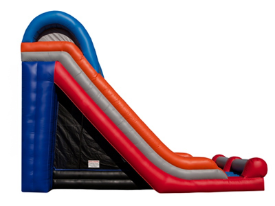 20' Triple Lane Slide - Side 02