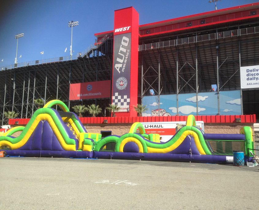 Emerald Events Nascar Auto Club 400 2017 Photos - Radical Run Obstacle Course