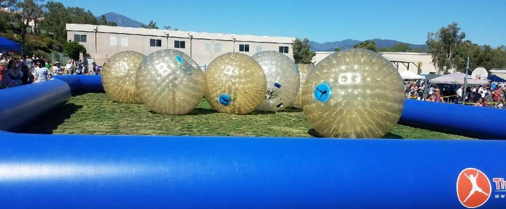Bubble Rollers at Arroyo Vista School Carnival 2017
