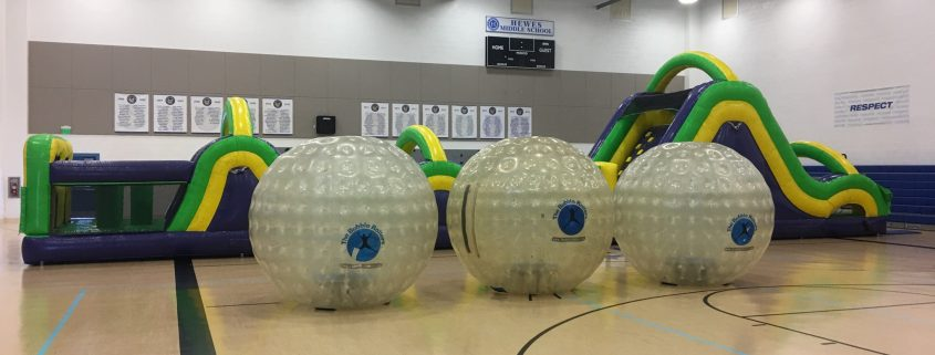 Land Bubble Rollers return to Hewes Middle School