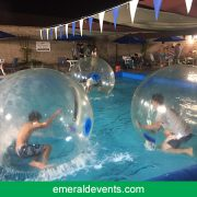 Blue Buoy Swim School enjoys Bubble Rollers Rentals