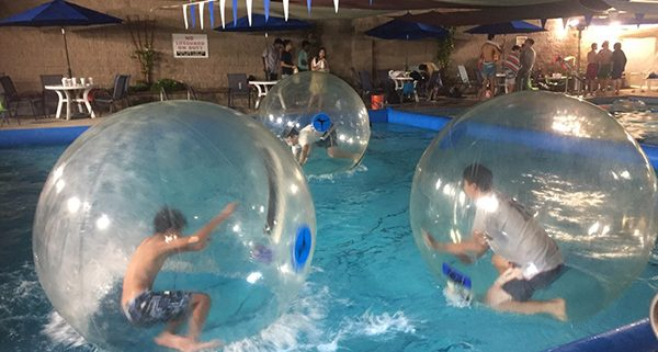 Blue Buoy Swim School enjoys Bubble Rollers Rentals