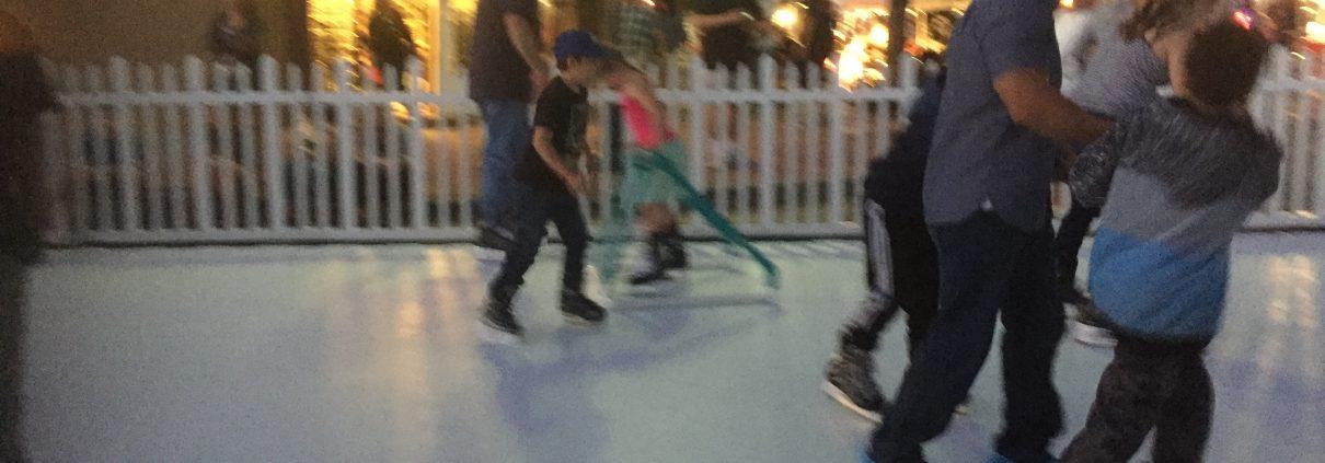 Ice Skating Fun at Core Church