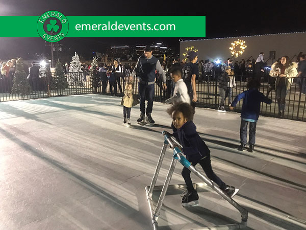 Core Church LA Ice Skating Event 2017