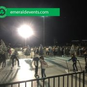 Core Church LA Portable Ice Skating Rink Event