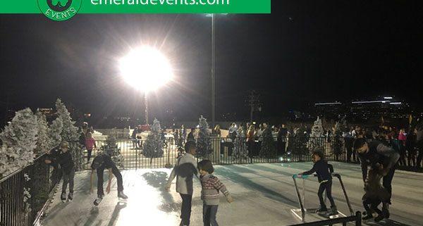 Core Church LA Portable Ice Skating Rink Event
