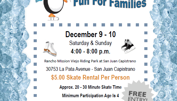 San Juan Capistrano Holiday Event