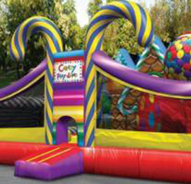 Kids bouncer and slide combo rental. Bouncer is great for outdoor playtime for kids parties