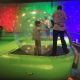 Bubble Rollers at Discovery Cube Bubble Fest 2018- Kids playing in large hamster bubbles