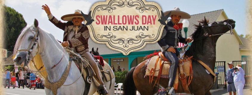 San Juan Capistrano Swallows day parade at Mercado Street