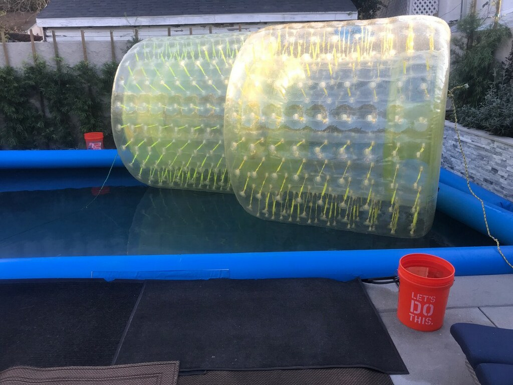 tube rollers the best kids pool birthday party idea