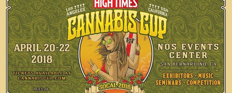High Times Cannabis Cup 2018- Los Angeles, San Bernadino, Ca.