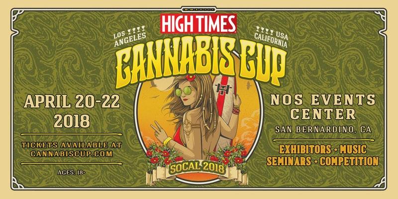 High Times Cannabis Cup 2018- Los Angeles, San Bernadino, Ca.