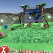 City of Corona and The Bubble Rollers