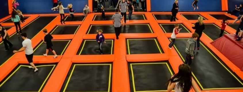 Big Air Trampoline Park Fort Night with Task Force Laser Tag provided by Emerald Events