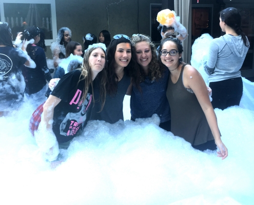 Rent Foam Pit Bubble Machine Rentals for Adult Parties
