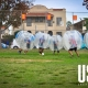 Urban Sports Sunday Funday Bubble Soccer LA January 2019. Bubble soccer balls provided by the bubble rollers