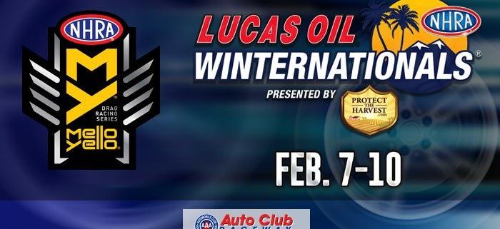 Auto Club Raceway at Pomona NHRA Winternationals, Feb. 8-10, 2019