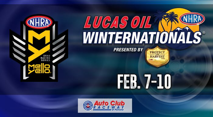 Auto Club Raceway at Pomona NHRA Winternationals, Feb. 8-10, 2019