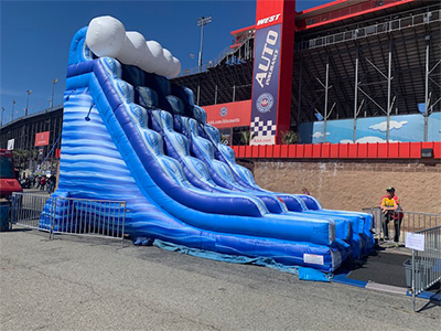 Inflatable Water Slides | Inflatable Slide Rental | Orange
