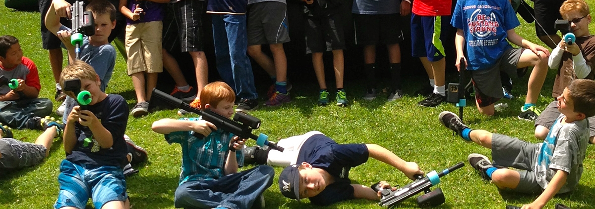 Our Task Force Tag Laser Guns rentals will be heading to Camp4Kids Summer Camp from July 22-27, 2019!