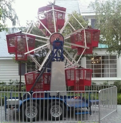 Rent 14' Kids Ferris Wheel Ride · Orange County, LA, Inland, Empire and throughout Southern California