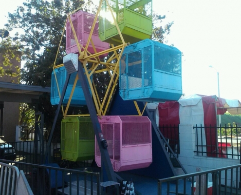 Rent Kids Carnival Ferris Wheel Ride · 14 inch Ferris Wheel Baskets for events · Southern California