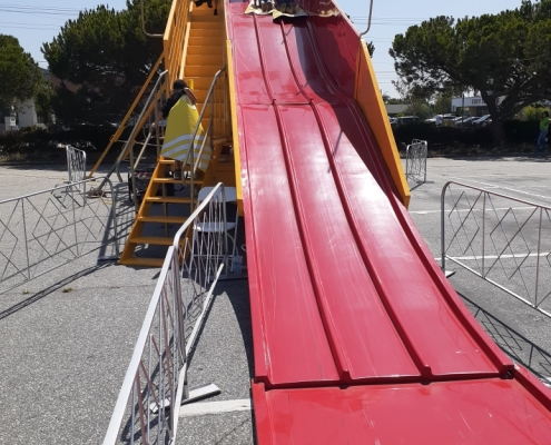 Rent 60' Super Slide Rental for Carnivals, Parties, Large Events in Orange County, Los Angeles, Inland Empire