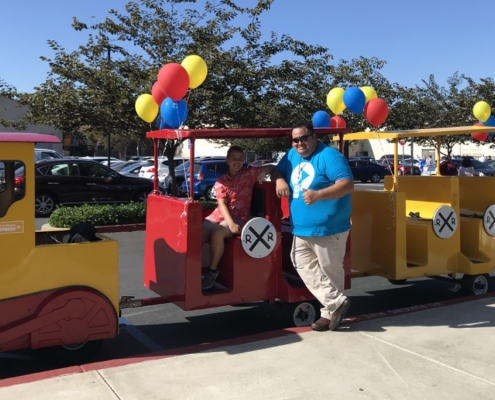 Rent Purpose Trackless Train · Southern California