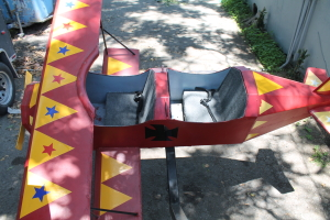 Rent Red Baron Airplane Ride for events, carnivals in Orange County, Los Angeles, Inland Empire at Emerald Events.