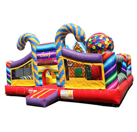 Rent Kids Inflatable Jumpers Candy Playland · Orange County