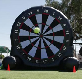 Soccer Dart Game Rental · Los Angeles, Orange County & Inland Empire · Available for rent in Southern California. Excellent for carnivals, fundraisers, events