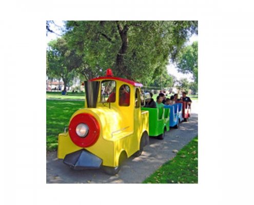 Rent Sunshine Express Trackless Train in Orange County, LA, Inland Empire
