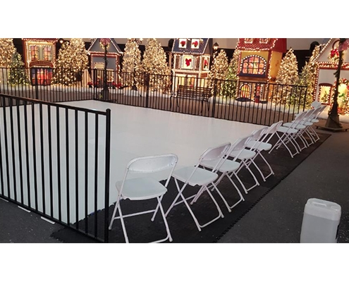 Rent Fake Ice Rink Rental for Winter Holidays, Christmas and New Years Eve in San Diego, Los Angeles, Orange County & Inland Empire