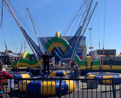 Rent bungee trampoline in Orange County, LA, and Inland Empire
