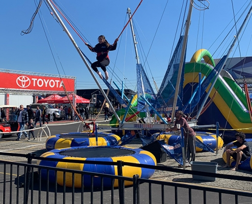 Rent bungee trampoline in OC, LA and Inland Empire