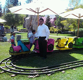 Rent Kids Mini Express Trackless Trains · Orange County, LA