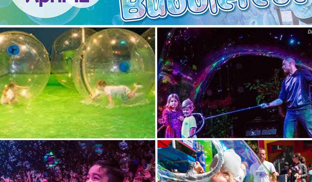 Discovery Cube Bubblefest 2020 in Santa Ana, Ca.