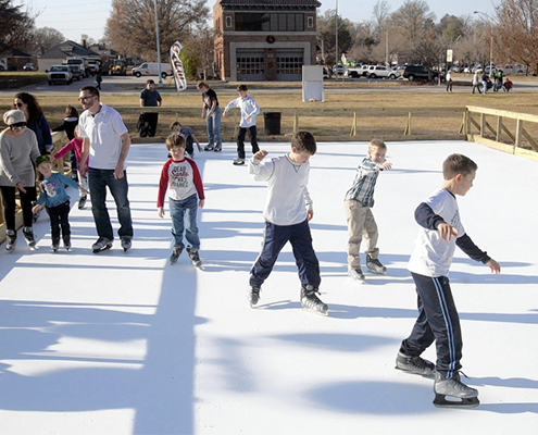 Ice Rink Rental in San Diego and Orange County
